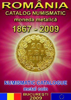 catalog numismatic moneda metalica romaneasca
