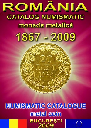 catalog numismatic moneda metalica romaneasca